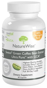 NatureWise Svetol Green Coffee Bean Extract Ultra Pure with GCA Natural Weight Loss Supplement Review