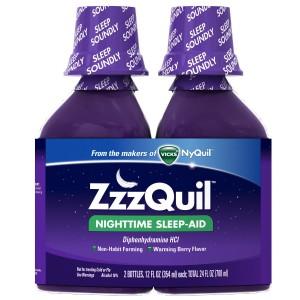 Vicks ZzzQuil Nighttime Sleep-Aid Liquid Review