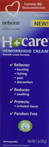 Nelsons Bach Hemorrhoid Cream