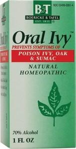 Boericke & Tafel Oral Ivy Liquid Review
