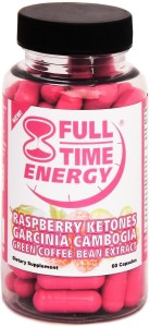 Full-Time Energy Super Pill With Raspberry Ketones Garcinia Cambogia Review