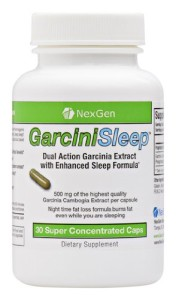 NexGen GarciniSleep Night-Time Diet Pills Review