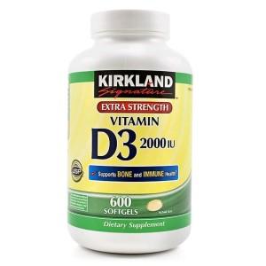 Kirkland Signature Maximum Strength Vitamin D3 Review