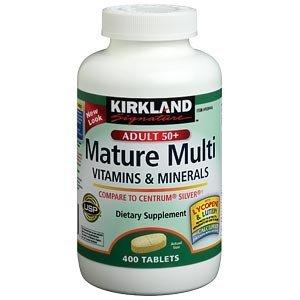 Kirkland Signature Adults 50 Mature Multi Review