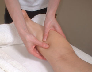after toning your legs with exercise get a massage!