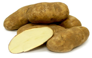 have russet potatoes with your meal in order to lose weight