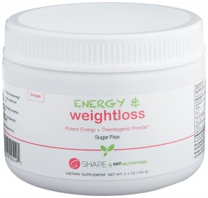 HIT Shape Energy plus Weight Loss Powder
